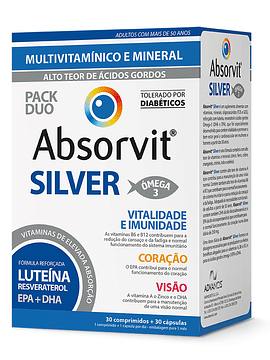 Absorvit SILVER x30 Comprimidos