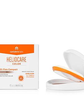 Heliocare Oil Free Compacto Claro SPF50