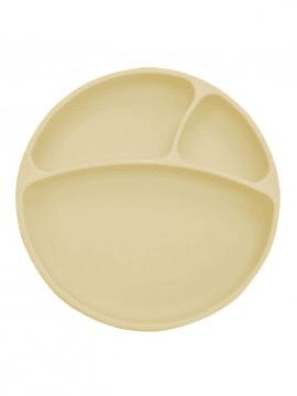 Minikoioi Prato com Divisórias em Silicone 6m+ - Amarelo
