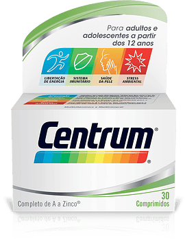 Centrum Comprimidos Revestidos X 30 Comprimidos