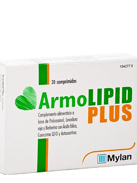 Armolipid Plus X 30 comprimidos