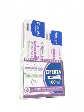 Mustela Creme Zona da Fralda 1-2-3 150 ml+Oferta 100ml