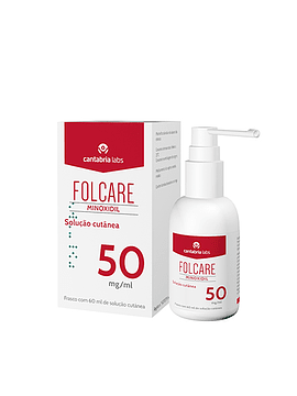 Folcare Minoxidil Solução Cutânea 50 mg/ml
