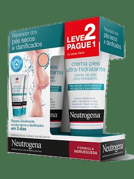 Neutrogena Duo Creme de Pés Ultra-Hidratante 2 x100 ml Oferta de 2ª Embalagem