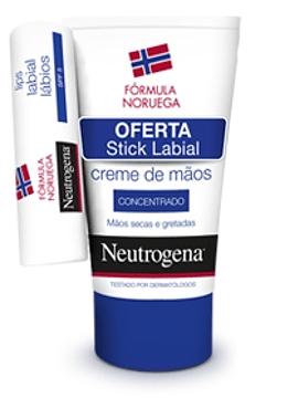 Neutrogena Creme Mãos Concentrado com Perfume 50 ml + Oferta Stick Labial