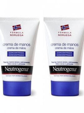 Neutrogena Duo Creme Mãos Concentrado Com Perfume 2x 50 ml com Desconto 80% 2ª Embalagem