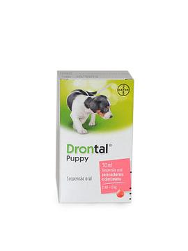 Drontal Puppy Suspenção Oral para Cachorros e Cães Jovens  50 Ml
