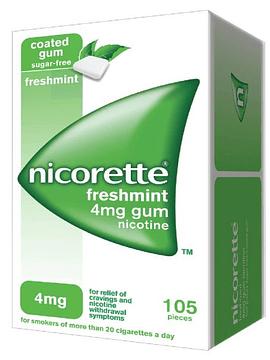 Nicorette Menta Fresca, 4 mg x 105 goma