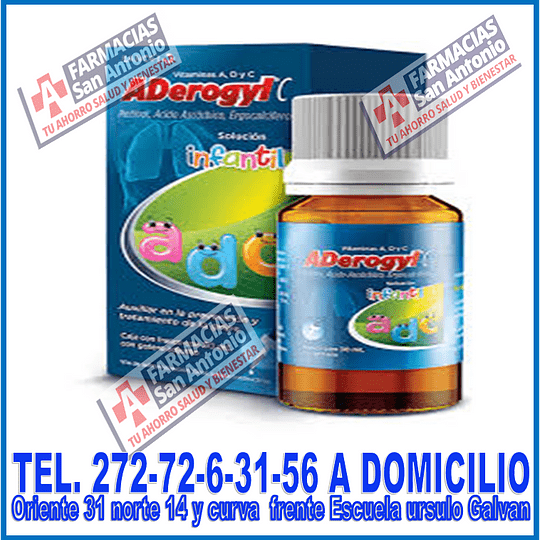 Aderogyl infantil 30ml
