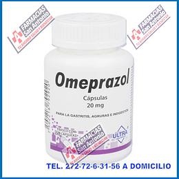 Omeprazol 20mg 120 capsulas