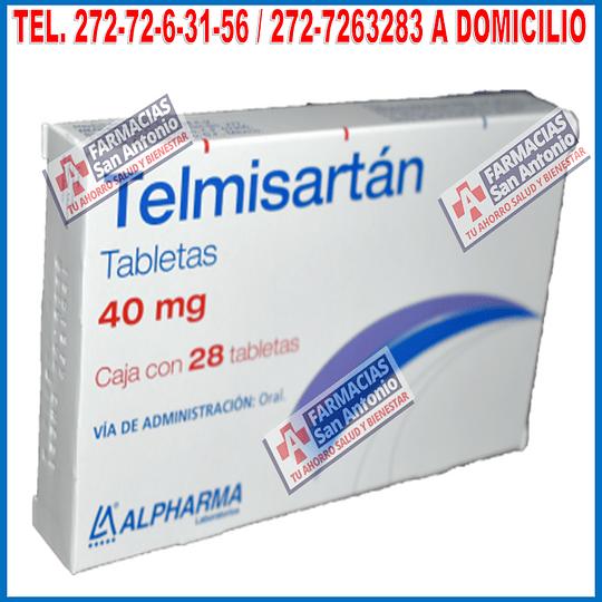 Telmisartan 40mg 28 Tabletas