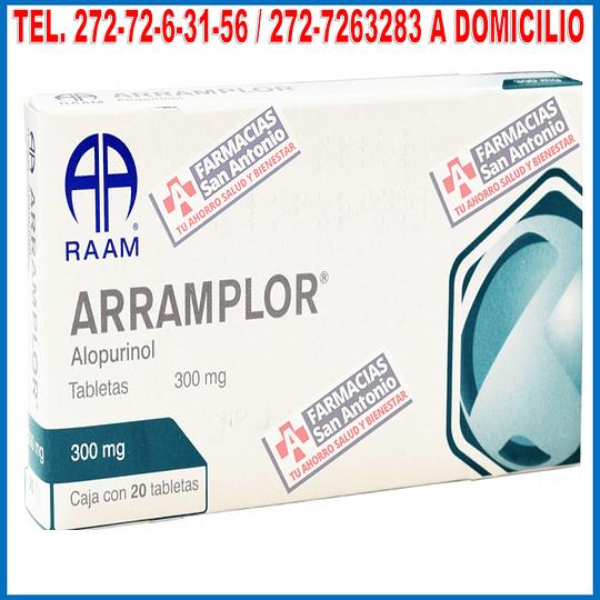 Alopurinol 300mg 20tabletas