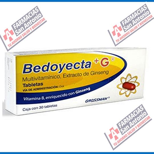 Bedoyecta +G multivitaminico  30 tab Promocion