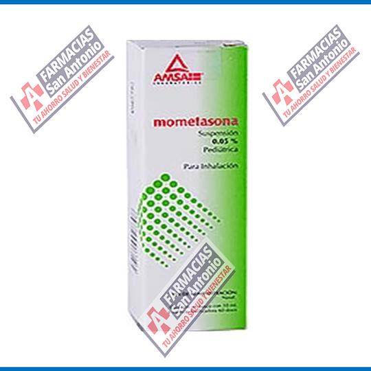 mometasona suspensión 0.05 pediatrica para inhalación Promoción
