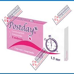 postday 1 comprimido  1.5 mg