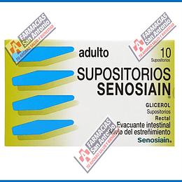 Adulto supositorio 10 supositorios Promoción
