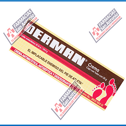DERMAN EL IMPLACABLE ENEMIGO DEL PIE DE ATLETA CREMA 25 g