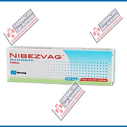 NIBEZVAG BEZAFIBRATO 200 mg (30 TABLETAS ) PROMOCIÓN