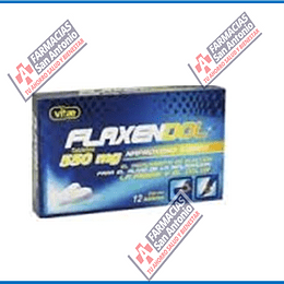 Naproxeno 550mg 12 tabletas Flaxendol