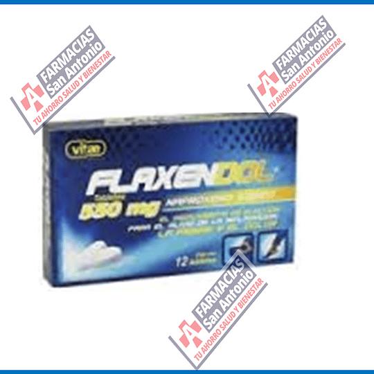 Naproxeno 550mg 12 tabletas Flaxendol