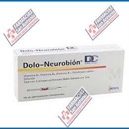 Dolo Neurobion doble camara  iny 3 Promocion
