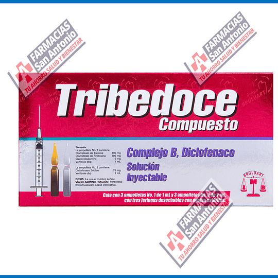 Tribedoce Compuesto 3 iny Promocion (generico Doloneurobion)