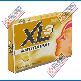 Xl3 antigripal 8 Tabletas