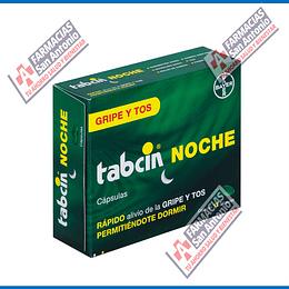 Tabcin noche Gripe y tos 12 capsulas