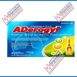Aderogyl 1 amp ingerible 3ml Promoción
