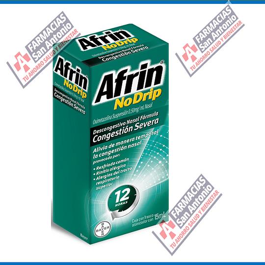 Afrin Nodrip CSE  12 12 horas de alivio 15ml