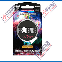 Prudence full sensitive Promoción (3condones)