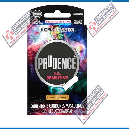 Prudence full sensitive Promoción (3condones)