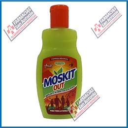 Moskit out repelente de mosquitos  150ml Promoción
