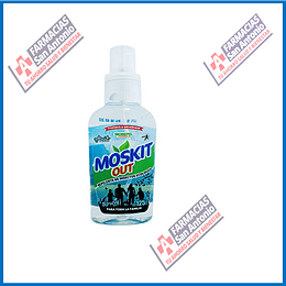 Moskit out repelentes de insectos  125ml Promoción