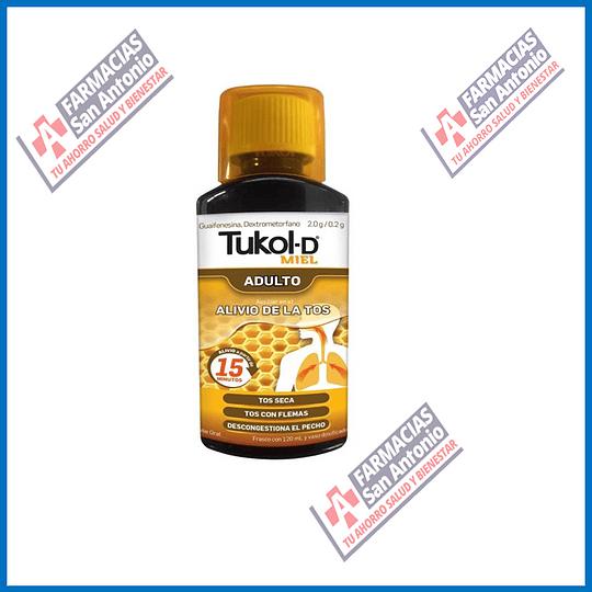 Tukol-D (miel) para adulto 120ml Promoción