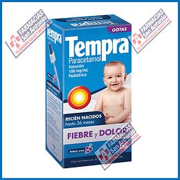 Tempra pedriatico (paracetamol) solución 100ml Promoción