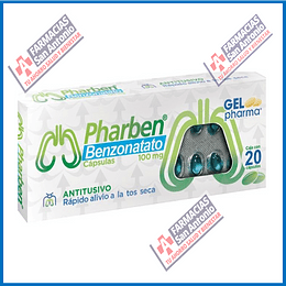 Pharben benzonatato 100mg 20 capsulas Promoción