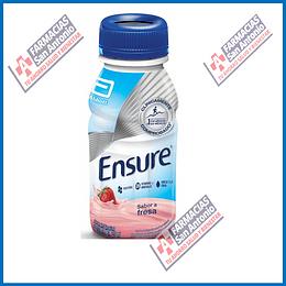 Ensure fresa proteína, vitaminas y minerales, omega 3 y 6 fibra 237ml Promoción