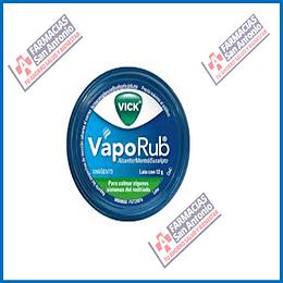 VapoRub (alcafor, mento, aceite de eucalipto) 12g Promoción
