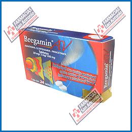 Bregamin AV 24tabletas  (amantadina, clofernamina, paracetamol)  50mg/3mg/300mg promoción