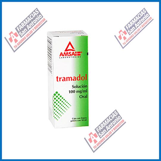 TRAMADOL SOLUCIÓN 100mg / ml oral  PROMOCIÓN