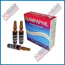 Quimpaphil 10 ampolletas de 5ml