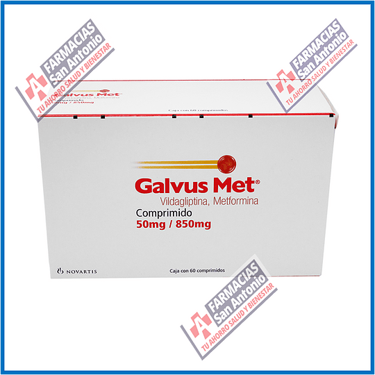 Galvus Met 500mg / 850mg 60caps