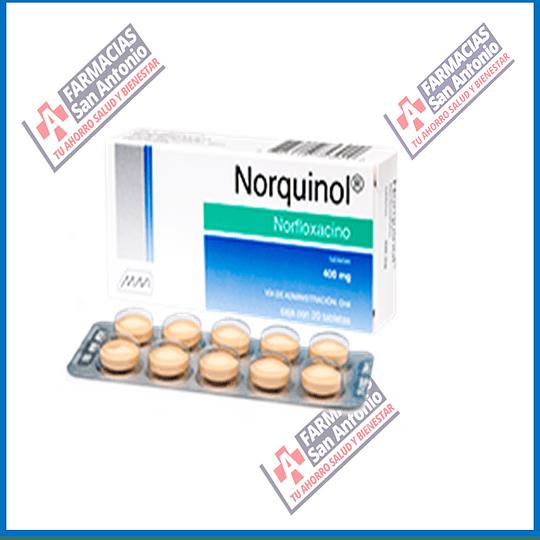 Norfloxacino 400 mg