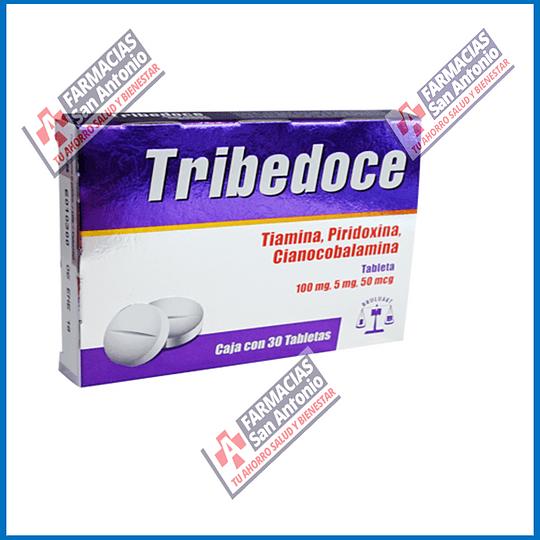 Tribedoce 30 tabletas
