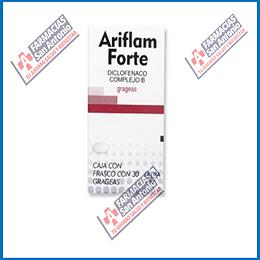 Ariflam Forte 30 grageas (Gegenerico Doloneurobion)
