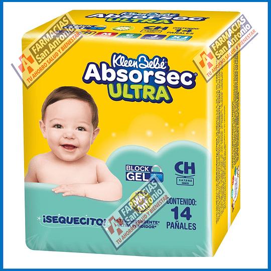 Absorsecc Ultra 14 pañales Promoción