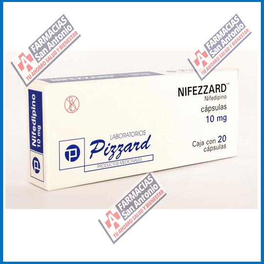 Nifedipino 10mg (20 capsulas ) Promoción