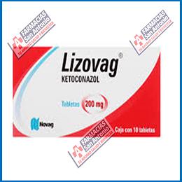 Lizovag  Ketoconazol 200mg (10 tabletas) Promoción