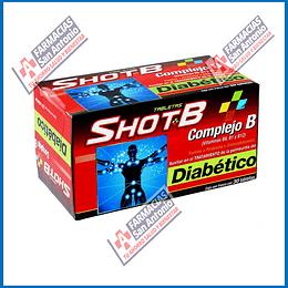 Shot B complejo B vitamina B6,B1 Y B12 30Tabletas